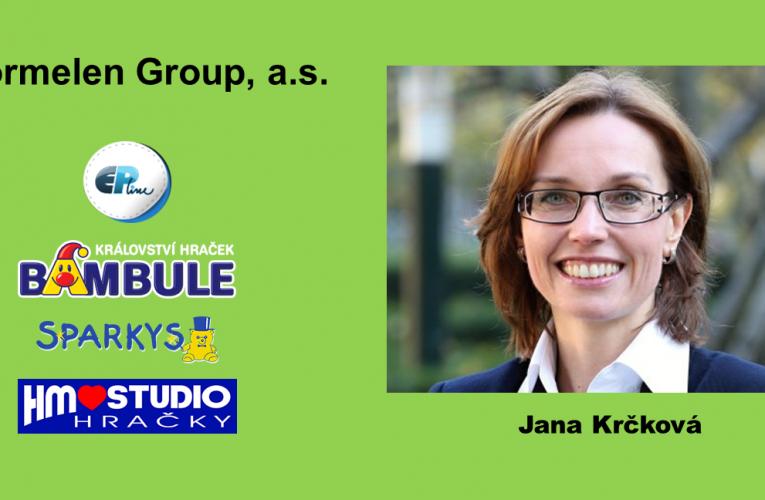 Jana Krčková se stala marketingovou ředitelkou společnosti Wormelen Group