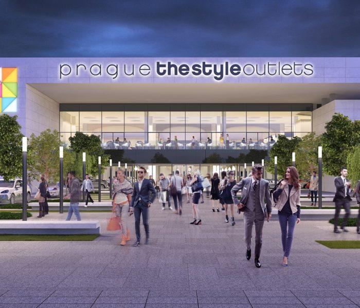 Největší český outlet Prague The Style Outlets  otevře v dubnu