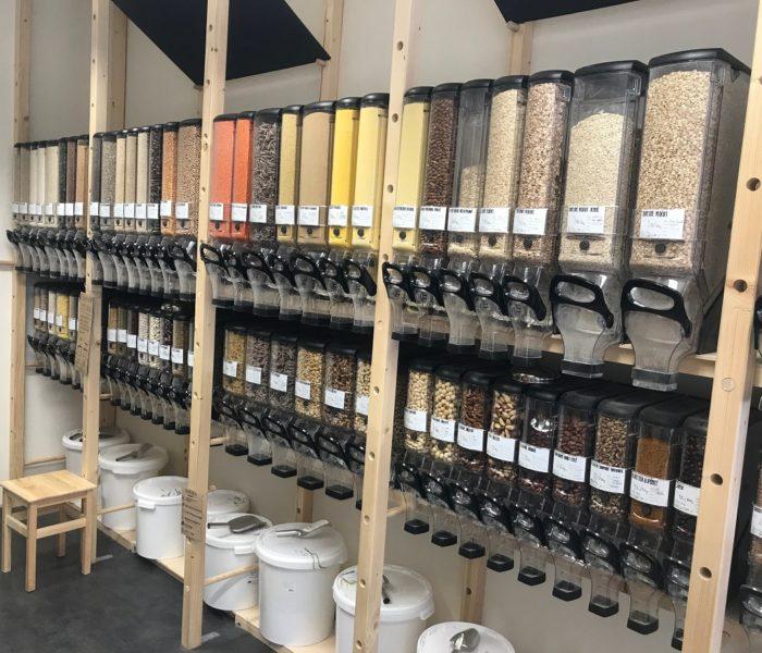 Zásobníky 3eBin zatraktivňují prodej sypaných potravin