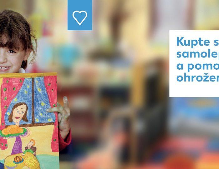 Vánoční sbírka v prodejnách Kaufland podpoří ohrožené děti