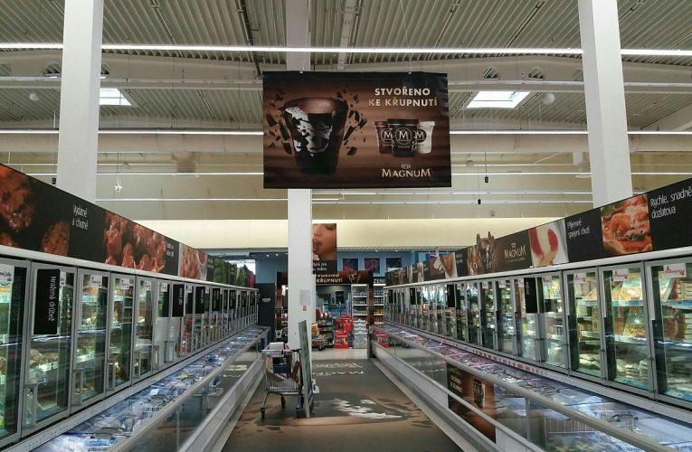 Ocenění TOP In-store realizace měsíce října 2017 získala kampaň Magnum Pinty