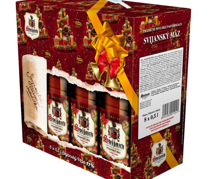 Pivovar Svijany uvádí na trh vánoční balení piva