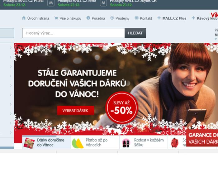 Jaká je předvánoční aktivita tuzemských e-shopů na sociální síti Facebook?