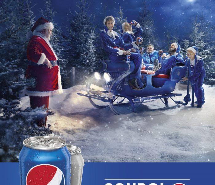 Vánoční kampaň Pepsi je plná elfů