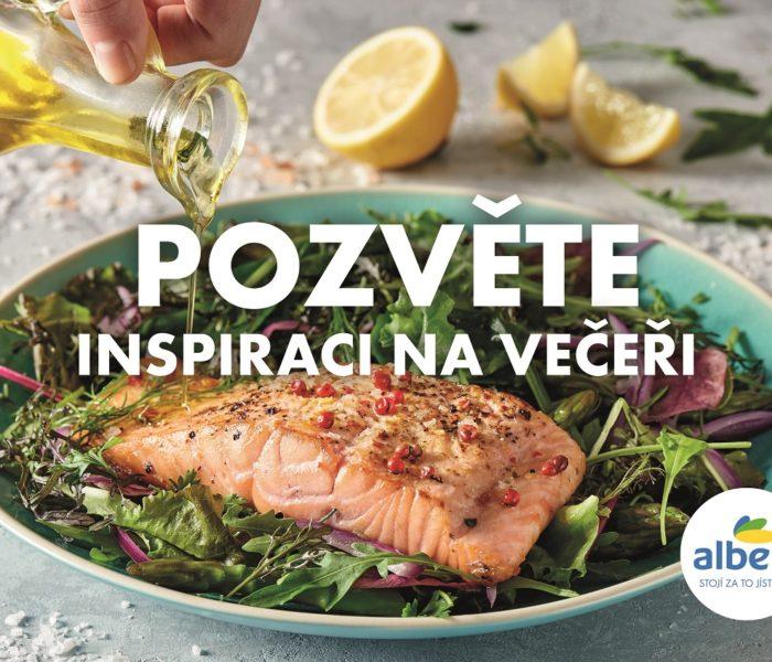 Albert inspiruje zákazníky při výběru potravin