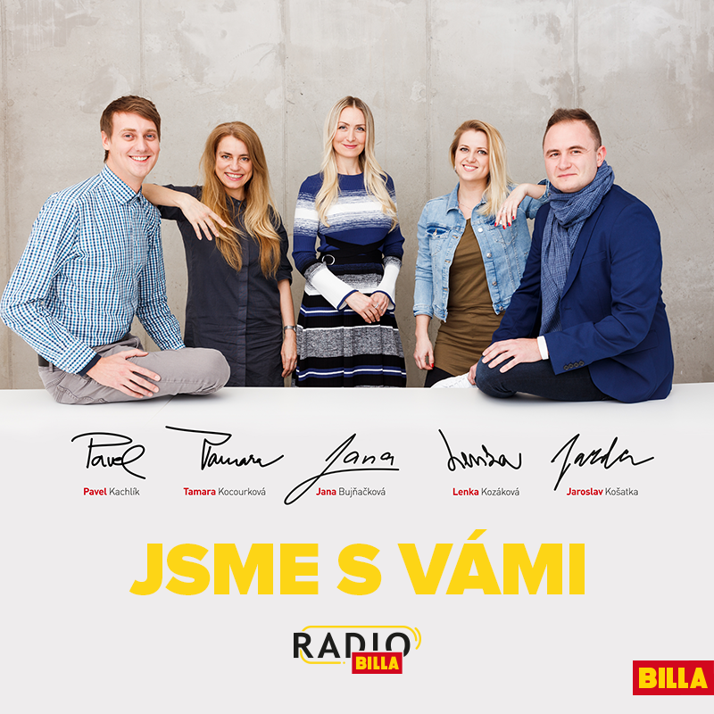 Společnost BILLA dnes představuje nový formát svého in-store rádia a  spouští své vlastní rádio – Rádio BILLA. Pro své zaměstnance bude nově  vysílat live ... 2979665858
