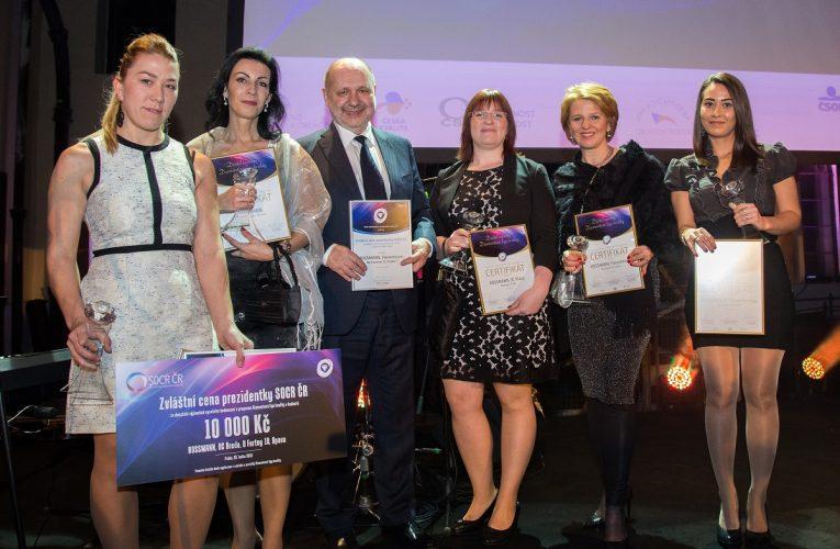 ROSSMANN získal prestižní ocenění v Diamantové lize kvality
