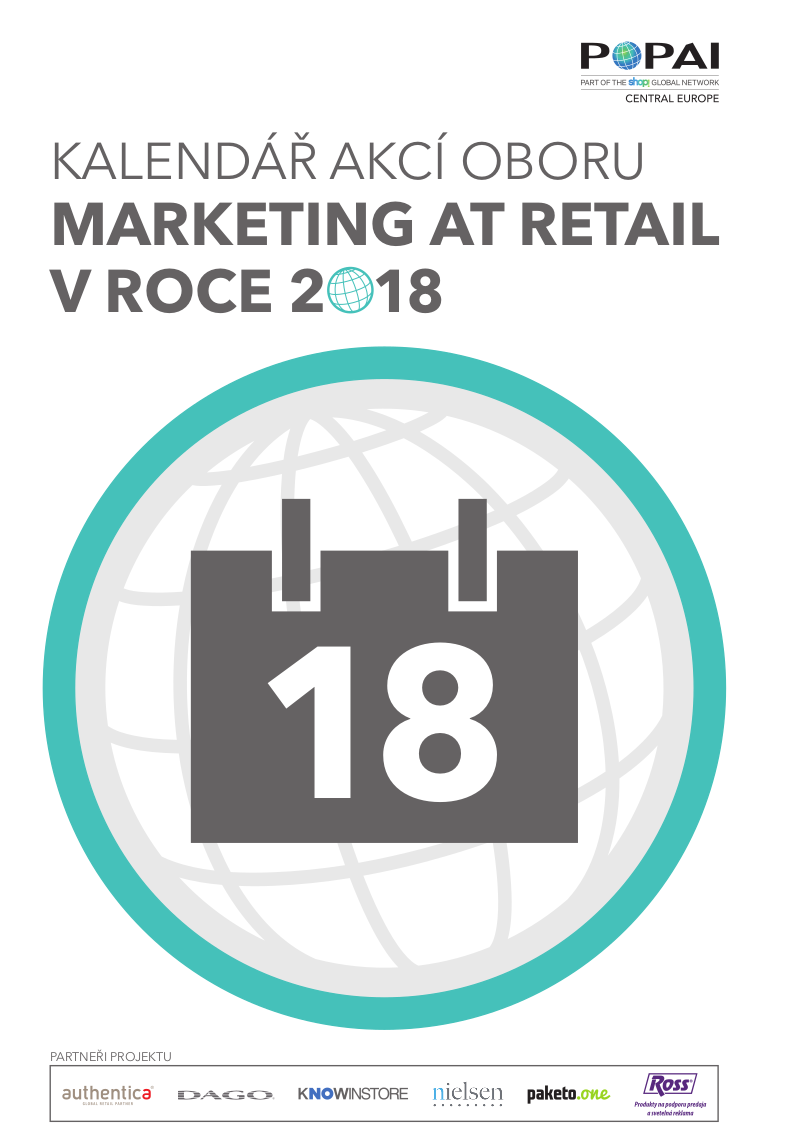 """Nový informační materiál """"Kalendář akcí v oboru marketing at retail 2018""""  obsahuje seznam akcí v oblasti marketingu d356a5c200"""