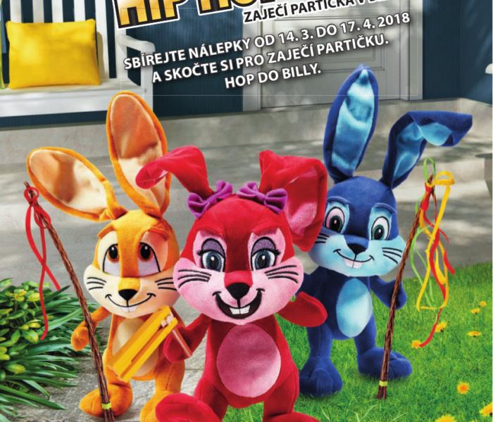 BILLA přichází s HIP HOP HOP velikonoční kampaní