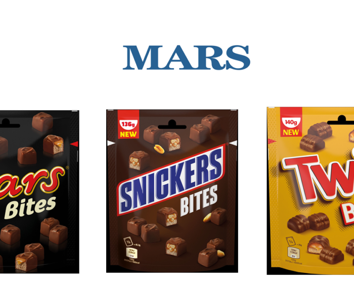 Čokoládové tyčinky Snickers, Twix a Mars se představují v novém