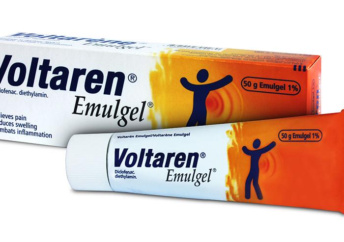 Nejdražší inzerci mezi farmaceutickými přípravky má zatím letos Voltaren