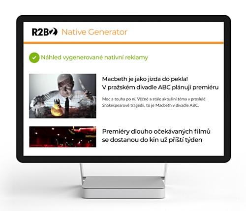 R2B2 představuje nový nástroj pro tvorbu nativní reklamy