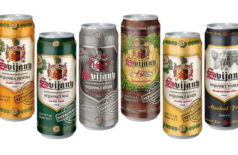 Nepasterované svijanské pivo v plechovkách jde na odbyt