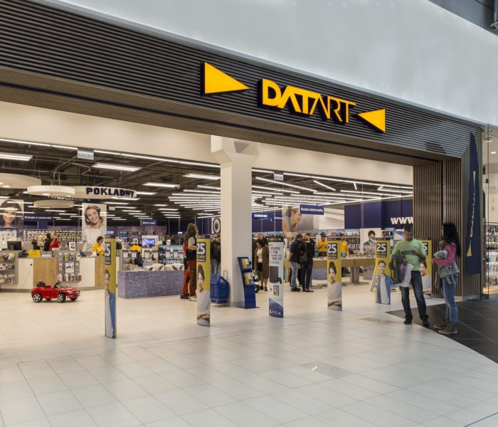 Datart se stává nejhustší sítí elektro prodejen u nás