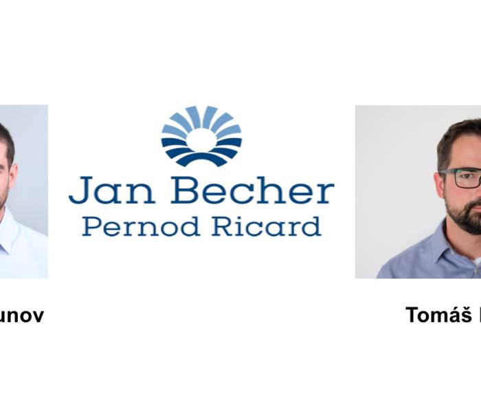 Společnost Jan Becher Pernod Ricard má nové manažery, kterými jsou Radi Uzunov a Tomáš Radil