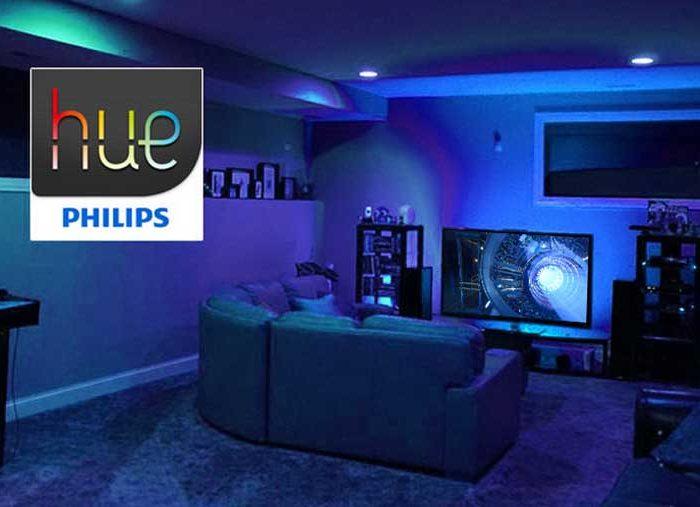 """Vytvořte """"prostorový zvuk pro vaše oči"""" pomocí nové technologie Philips Hue Sync"""