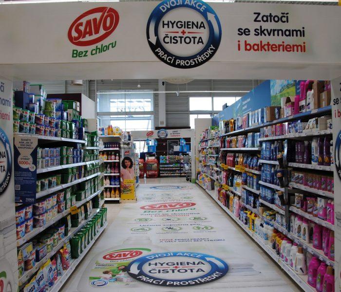 Ocenění TOP In-store realizace měsíce května 2018 získala kampaň Savo
