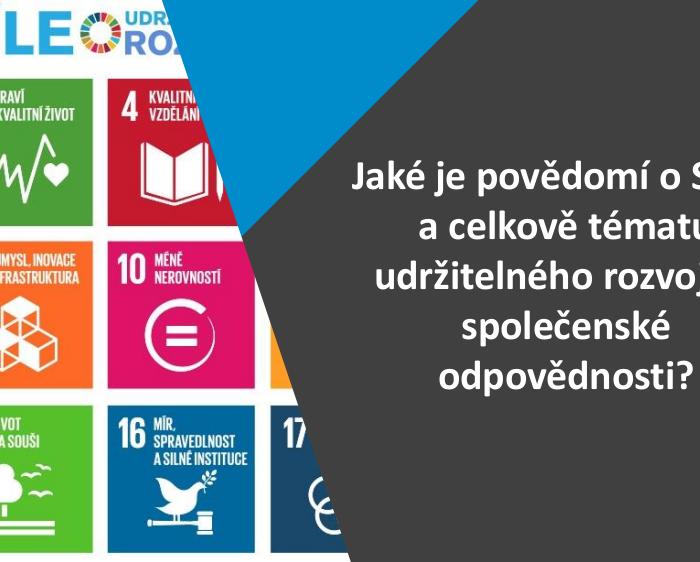Jaké je povědomí o Cílech udržitelného rozvoje OSN v Česku?