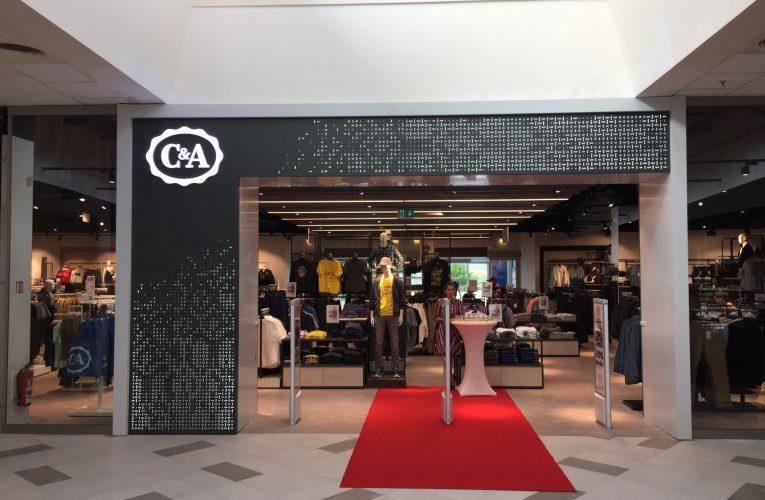 Nový koncept obchodu C&A se představil veřejnosti v OC Letňany