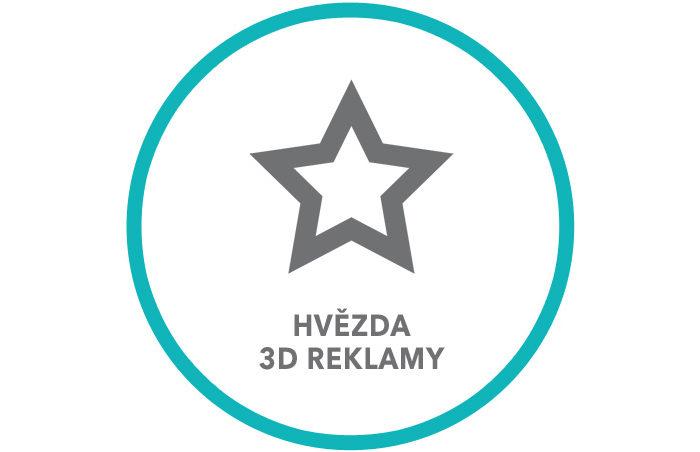 Nezapomeňte se zúčastnit soutěže Hvězda 3D Reklamy