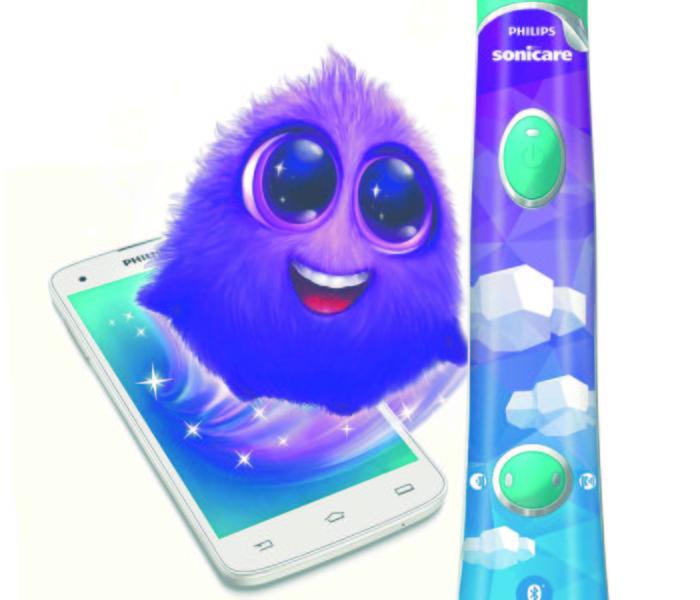 Philips spouští kampaň na dětské kartáčky Sonicare for Kids