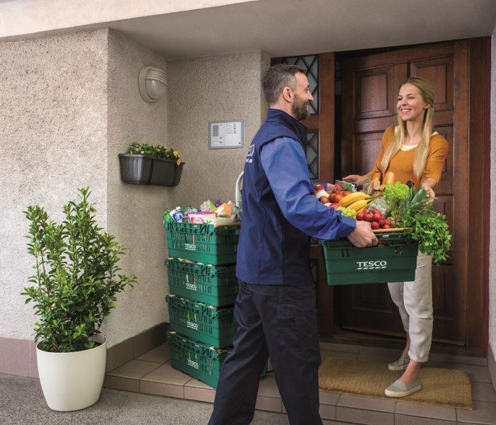 Tesco spustilo rozvoz potravin v Ostravě