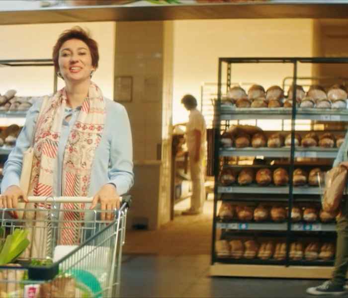 Tváří nových reklamních spotů obchodů Albert je Simona Babčáková
