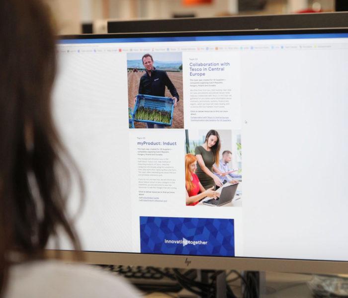 Tesco spouští novou tréninkovou platformu pro dodavatele ze střední Evropy
