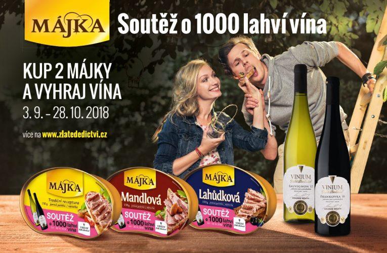 Hamé znovu rozdá s Májkou 1000 lahví vína