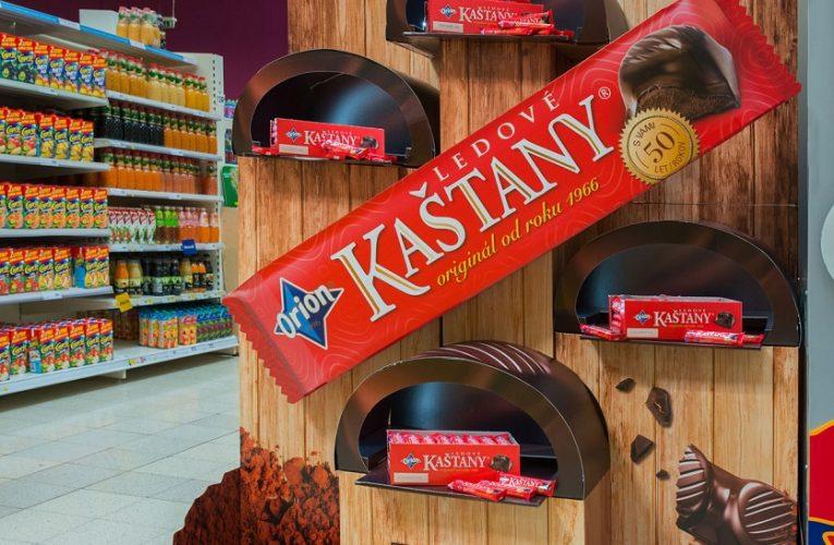 Ocenění TOP In-store realizace měsíce září 2018 získala kampaň END CAP Kaštany