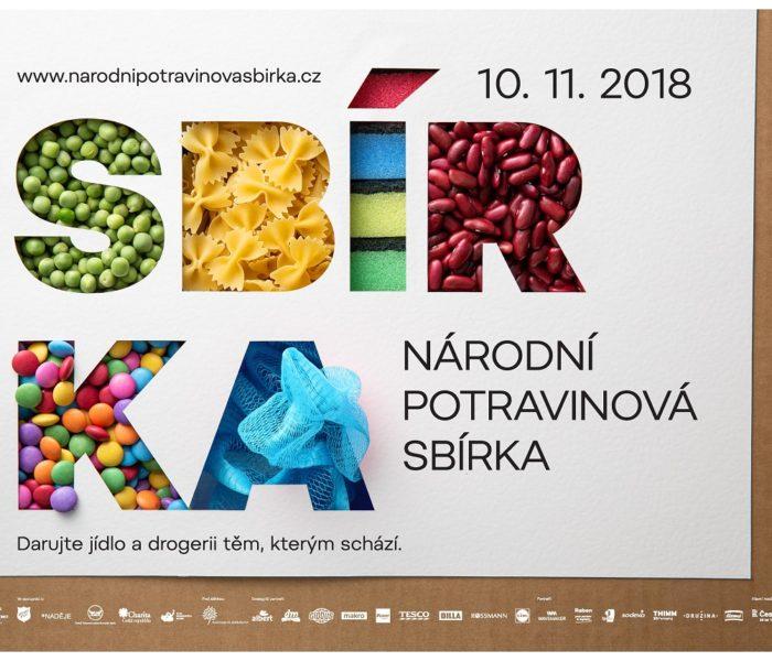 Sobota 10. listopadu bude patřit Národní potravinové sbírce