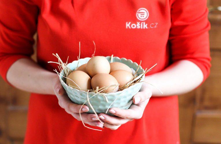 Košík.cz končí s vejci z klecí nejpozději v roce 2020