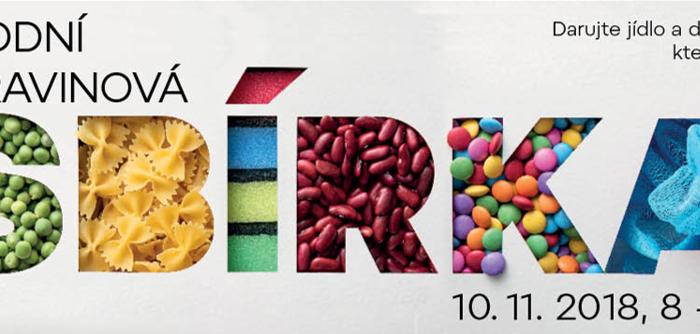 Do Národní potravinové sbírky se chce 10. listopadu zapojit téměř polovina Čechů