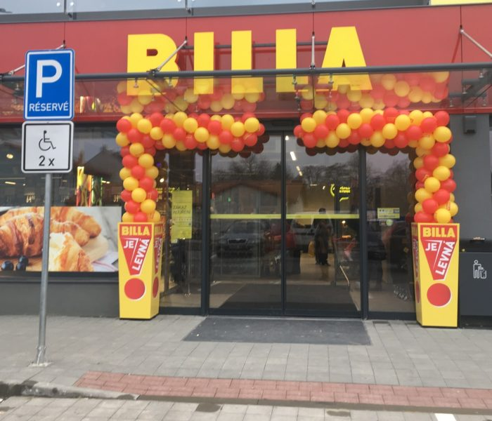 Včera BILLA otevřela novou prodejnu v Brně
