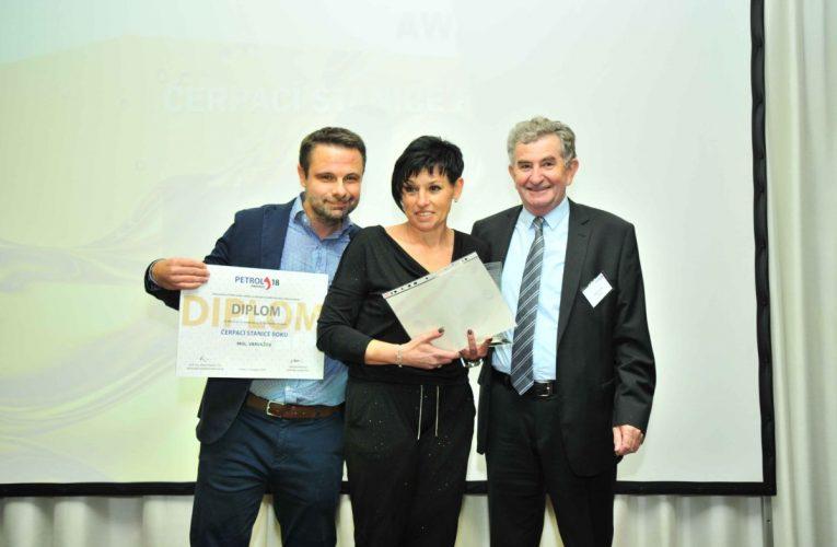 Ocenění čerpací stanice roku získal MOL ve Varvažově