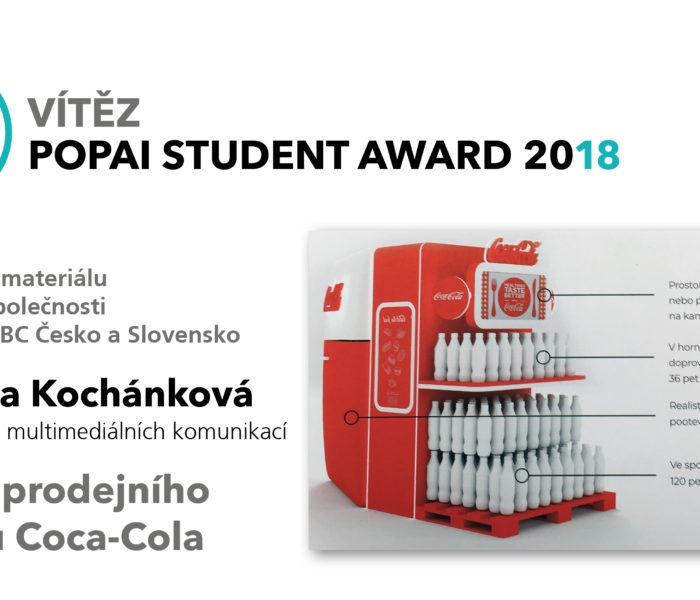 Soutěž POPAI STUDENT AWARD 2018 ocenila nejlepší studentské projekty komunikace v prodejních místech