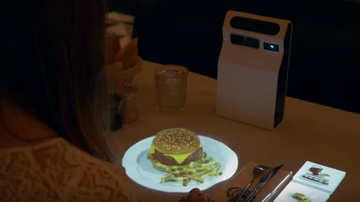 Budoucí trend moderních restaurací – hologramové menu