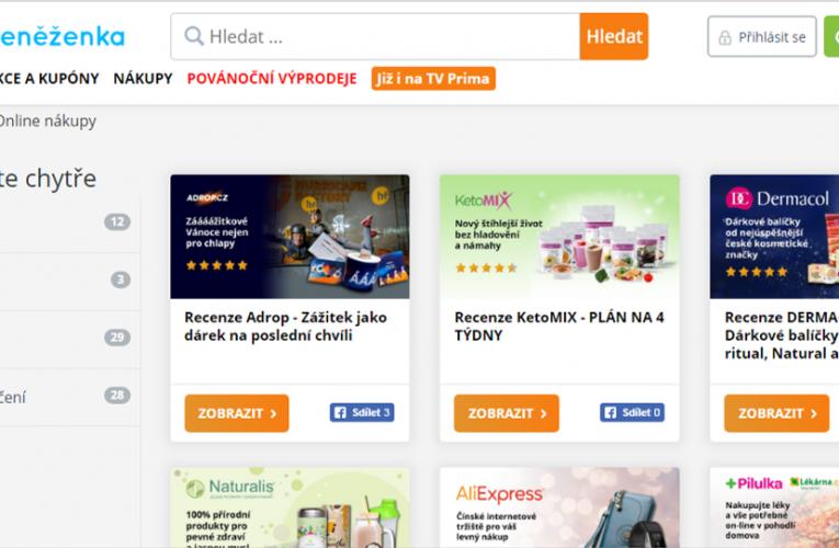 České e-shopy mají své předvánoční žně na Black Friday a dva týdny před Vánoci