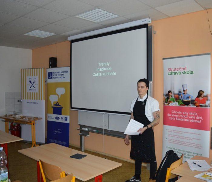 Královéhradecká škola se zapojila do mezinárodního stravovacího projektu