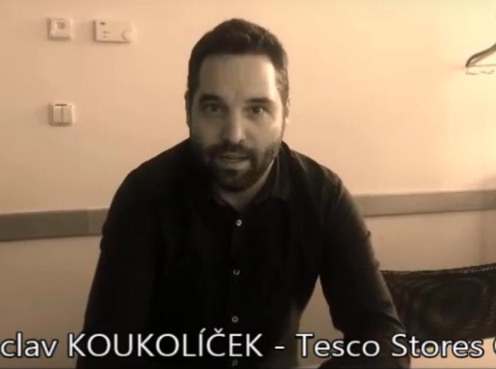 VIDEOANKETA 3. – Václav Koukolíček – Tesco Stores ČR