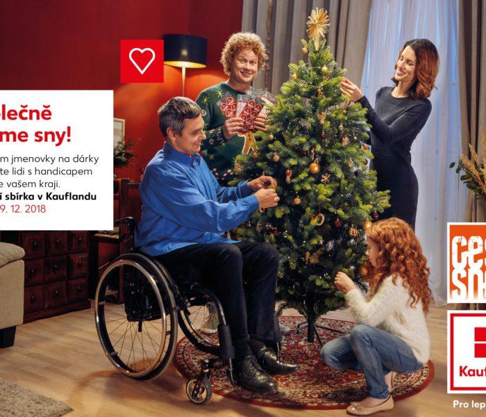 Vánoční sbírka v Kauflandu právě finišuje