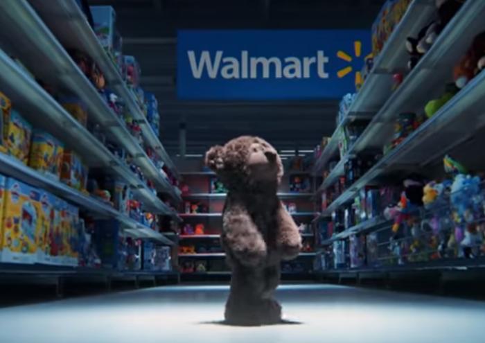 Nový vánoční TV spot obchodního řetězce WALMART