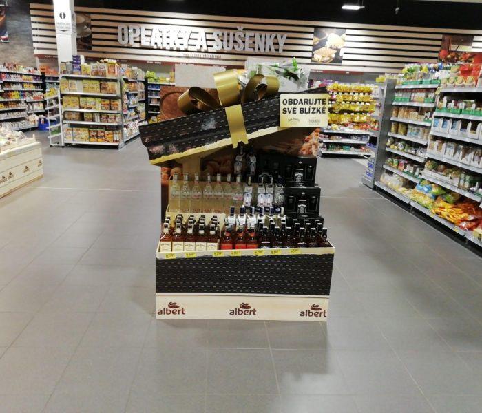 Ocenění TOP In-store realizace měsíce prosince 2018 získala kampaň Jack Daniels, Finská
