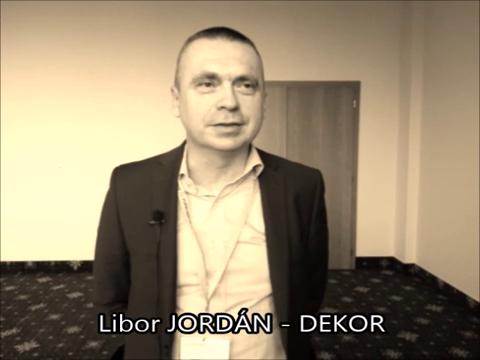 VIDEOANKETA 5. – Libor Jordán – DEKOR
