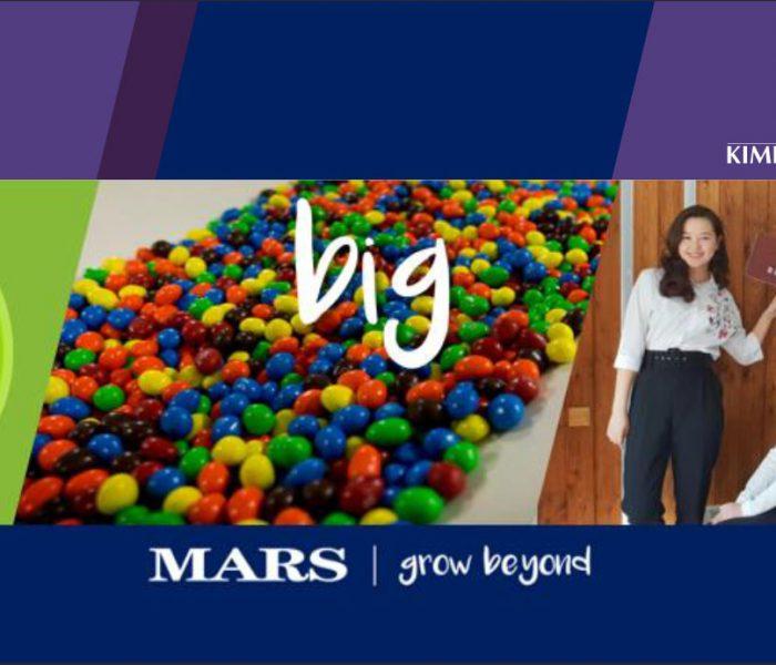 Mars nabízí ambiciózním absolventům možnost zapojit se do tříletého výběrového programu a stát se členem leadership týmu