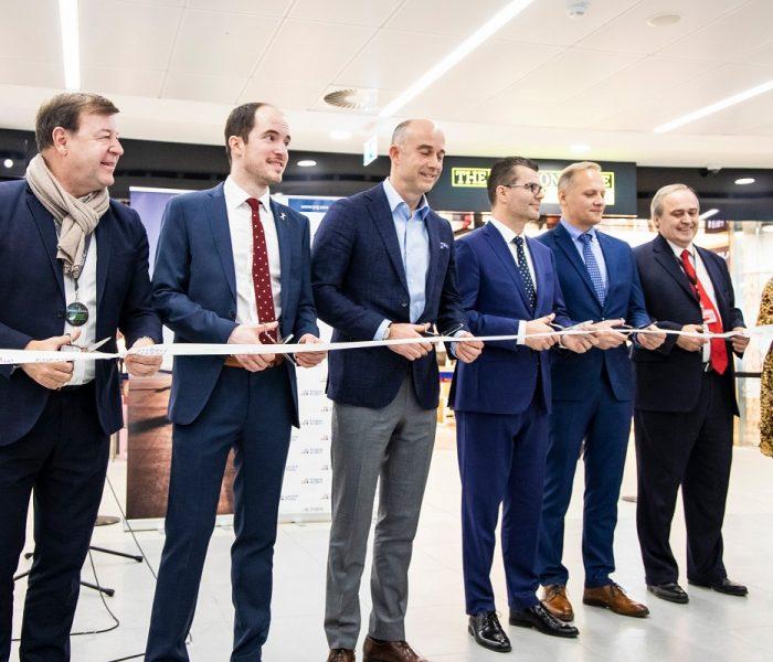 Letiště Praha rozšiřuje komerční prostory, na Terminálu 2 otevírá novou zónu s obchody a restaurací