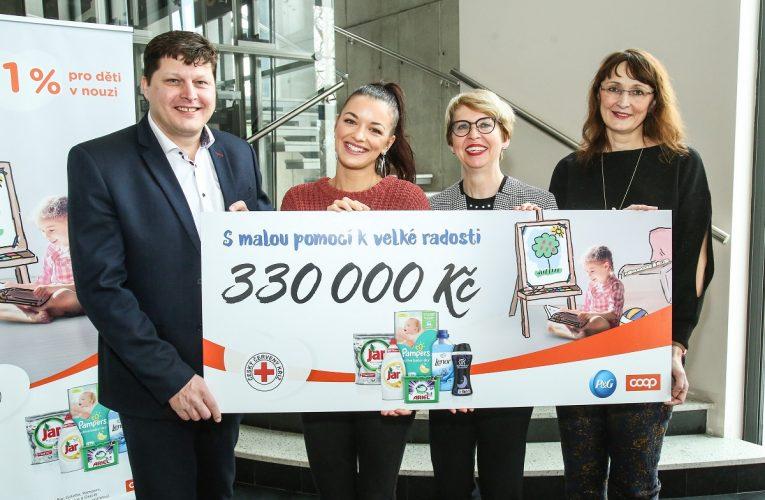 Český červený kříž díky projektu Procter & Gamble a COOP opět zajistí útulnější domov dětem v azylových domech