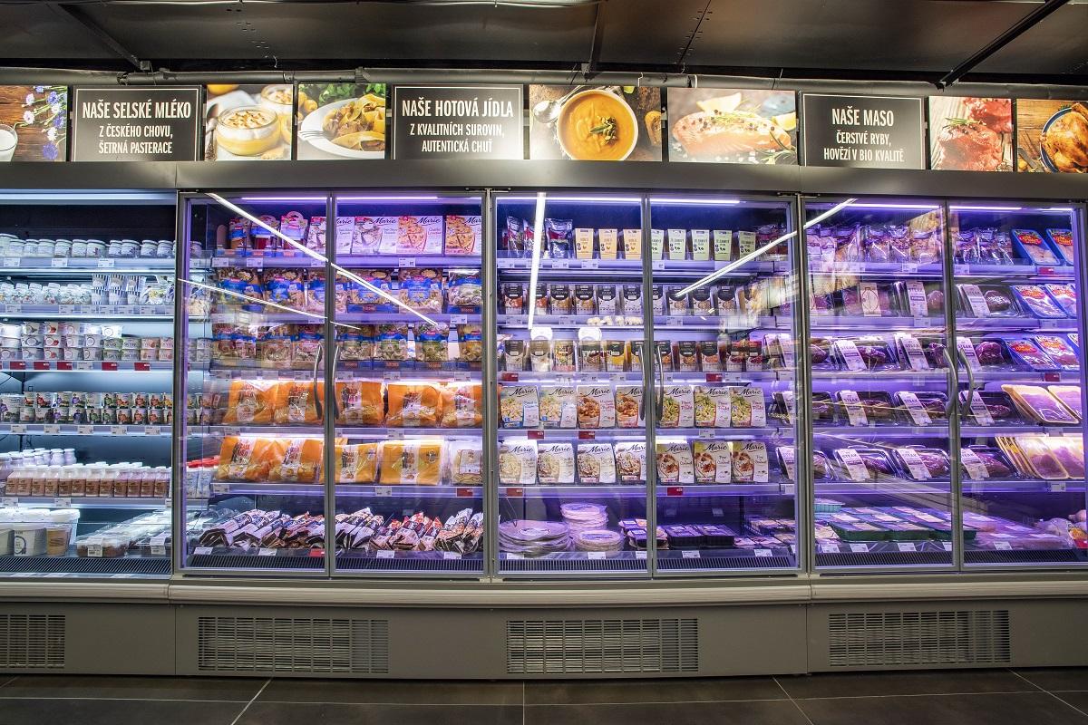 Další pobočka pražské sítě supermarketů DELMART se na stanici metra  Hradčanská otevřela začátkem prosince. Regály zdejší prodejny nabízí stejně  jako pět ... 054f245375