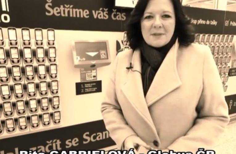 VIDEOANKETA 8. – Rita Gabrielová – Globus ČR