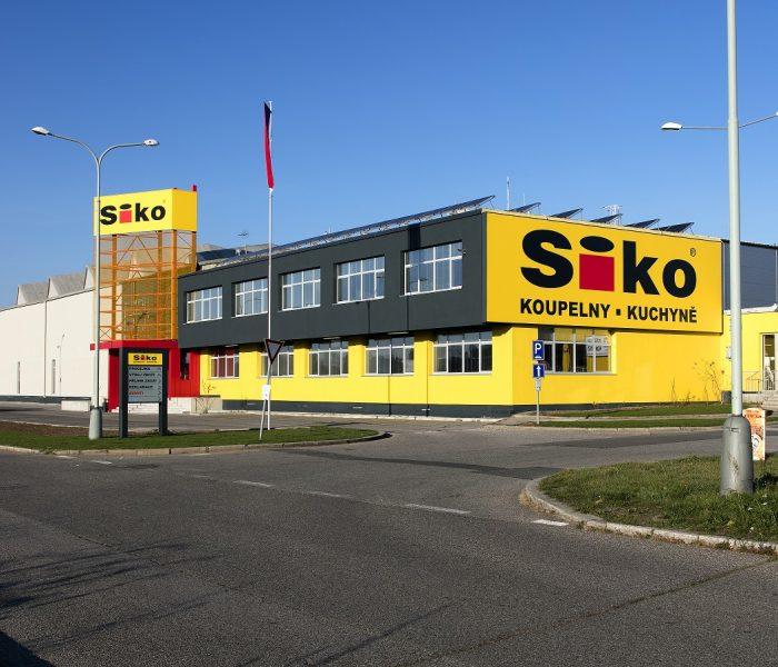 SIKO proměnilo původní prodejnu na Černém Mostě do moderního showroomu v novém konceptu